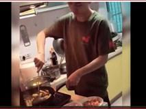 Đàn ông hiện đại là không ngại vào bếp