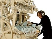 Chiếc máy chơi nhạc độc đáo tạo ra âm thanh nhờ hàng nghìn viên bi