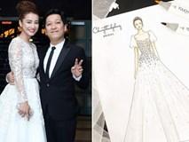 HOT: Váy cưới của Nhã Phương chính thức lộ diện, điệu đà như váy công chúa và mất 20 ngày để thực hiện