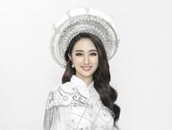 Hoa hậu Thu Ngân khoe nhan sắc kiều diễm trong bộ ảnh mới
