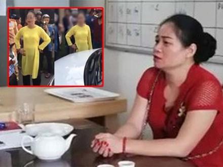 Người phụ nữ chống nạnh, chửi bới CSGT: 'Tháng 7 âm lịch không muốn gặp sự cố nên đưa tiền cho CSGT'