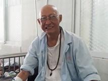Nghệ sĩ Lê Bình nằm giường hành lang 200.000 đồng trị ung thư