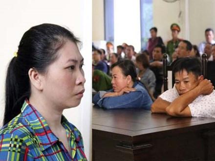 Hình ảnh giằng xé ở phiên xử vợ phân xác chồng phi tang tại Bình Dương