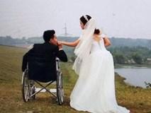 Cô gái kết hôn với anh chàng cụt chân nhờ Facebook: