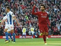 Salah ghi bàn nhanh như điện đưa Liverpool lên ngôi đầu bảng xếp hạng Premier League 2018/19