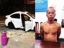 Thanh niên nghi 'ngáo đá' dùng búa đập phá hàng loạt ô tô trên đường