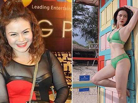 Ca sĩ Việt bị chê bai béo ú bất ngờ lột xác, bốc lửa khi mặc bikini