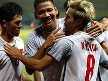 Văn Toàn ghi bàn đưa Olympic Việt Nam vào bán kết ASIAD 2018