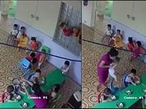 Đuổi việc cô giáo nhồi nhét thức ăn và đánh trẻ hơn 2 tuổi