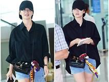 Đây hẳn là lần xuống tóc 'táo bạo' nhất của Song Hyo Kyo từ trước tới nay