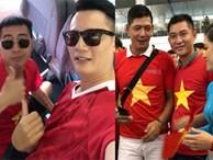 Only C, Bình Minh tới Indonesia cổ vũ Olympic Việt Nam