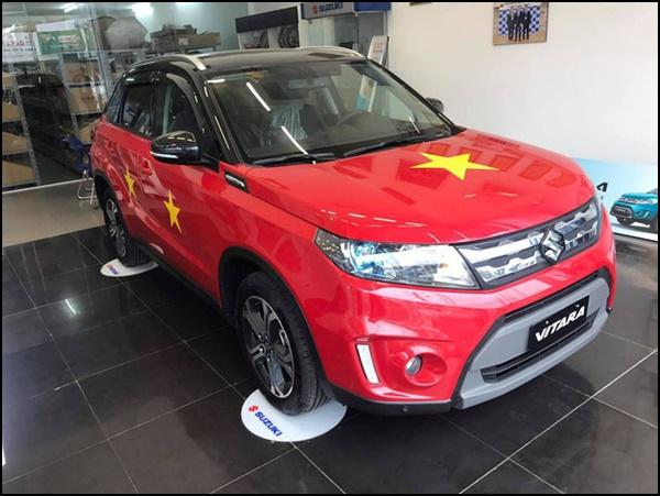 xe2 - Dàn 'Quái Xế' Khủng Thi Nhau Độ Cổ Động U23 Việt Nam