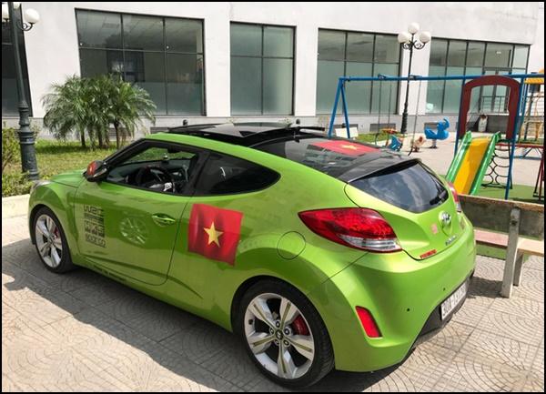 xe3 - Dàn 'Quái Xế' Khủng Thi Nhau Độ Cổ Động U23 Việt Nam