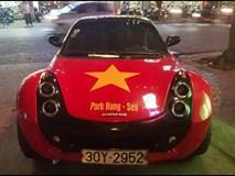 Dàn 'quái xế', siêu xe thi nhau độ cổ động U23 Việt Nam