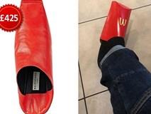 Giày hiệu 13 triệu đồng như hộp đựng đồ ăn nhanh