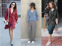 Trời chớm thu, loạt hot trend của mùa mới đều góp mặt trong street style tuần này của các quý cô châu Á