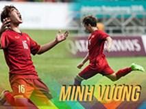 Những khoảnh khắc bùng nổ của tiền vệ Minh Vương