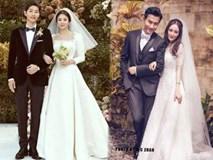 'Cuộc đua' váy cưới của người đẹp châu Á, chốt hạ sao Trung chịu chi nhất với giá 900 tỷ