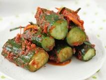 Công thức làm kim chi dưa chuột chuẩn vị Hàn ăn kèm món nào cũng ngon