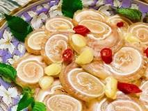 Tai heo cuộn ngâm chua ngọt chỉ 1 ngày là ăn được cho chồng nhậu chơi dịp lễ