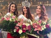 Vẻ đẹp nóng bỏng của cô gái vừa đăng quang Hoa hậu Áo 2018