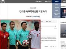 20.000 người kiến nghị Tổng thống Hàn Quốc trừng phạt trọng tài