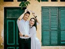 Bảo Thanh và ông xã Đức Thắng tình tứ trong bộ ảnh hoài niệm về tuổi thanh xuân