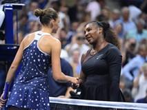 Serena Williams băng băng tiến vào bán kết Mỹ mở rộng