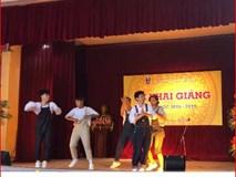 Tiết mục nhảy siêu chất của học sinh Trần Phú