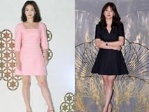 Nhìn tưởng giản dị, nhưng váy áo của Song Hye Kyo đều đặc biệt không ai ngờ