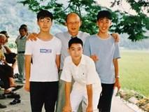 Lan truyền bức ảnh được cho là của HLV Park Hang Seo cùng Son Heung Min cách đây nhiều năm