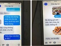 Dòng tin nhắn của cụ bà gửi cháu nội khiến người ta phải đọc đi đọc lại vì quá dễ thương