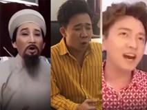 Sao Việt gây cười khi hát theo trào lưu 'tròn, vuông, tam giác'