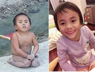 Sau 9 tháng ở với mẹ nuôi, em bé Mường Lát tật nguyền ngày nào đã được đi học chữ, ngày càng lanh lợi đáng yêu