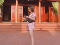 Cô gái bị chỉ trích vì mặc đồ ngủ lên chùa và sự thật khiến tất cả lắc đầu, bật cười