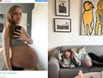 Dù đã được báo trước nhưng bà mẹ vẫn không thể tin vào mắt mình khi bác sĩ đón một đàn con trong bụng cô chào đời-10