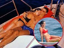 'Vợ hờ' của CR7 liên tục mặc bikini bé xíu, cạnh tranh độ gợi cảm với Irina Shayk