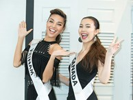 Khả Trang nổi bật ở 'Siêu mẫu quốc tế 2018' nhờ làn da nâu sexy