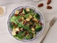Công thức salad súp lơ ngon lạ miệng lại có tác dụng giảm cân