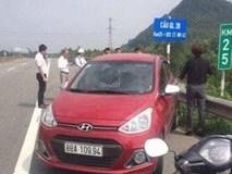 Nữ tài xế bị phạt 7 triệu vì chạy ngược chiều trên cao tốc Hà Nội - Lào Cai