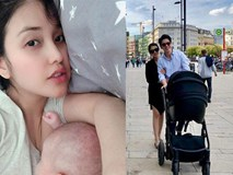 Mai Hồ sinh con ở Đức sau 7 tháng tổ chức đám hỏi với ông xã điển trai tại Việt Nam
