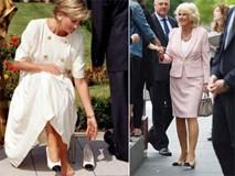 Rất chăm diện mẫu giày mà Công nương Diana từng đoạn tuyệt, bà Camilla có lẽ là nữ tình địch 'chẳng phải dạng vừa