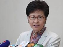 Đặc khu trưởng Hồng Kông: Hi vọng người dân đừng liều mạng