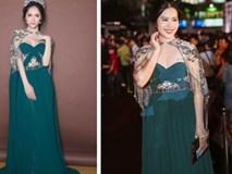 Một chiếc váy 2 sắc thái: Hương Giang tỏa sáng đúng kiểu hoa hậu, Nam Em lại như mệnh phụ phu nhân