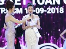 Chung kết HHVN 2018: Top 5 lộ diện trả lời ứng xử xuất sắc