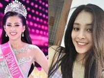 Cận cảnh mặt mộc không tì vết của Tân hoa hậu Việt Nam 2018