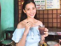 """Loạt ảnh ăn quán vỉa hè, lí lắc với bạn hay """"selfie"""" tự sướng của Tân Hoa hậu Việt Nam 2018 được hé lộ"""
