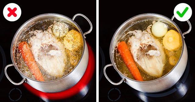 Những mẹo bếp núc cực hay của dân trong nghề khiến chị em thăng hạng nấu ăn-7