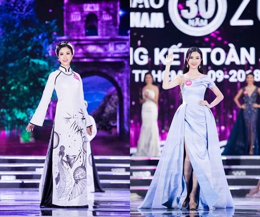 Vẻ đẹp nóng bỏng của Top 5 Hoa hậu Việt Nam 2018-4