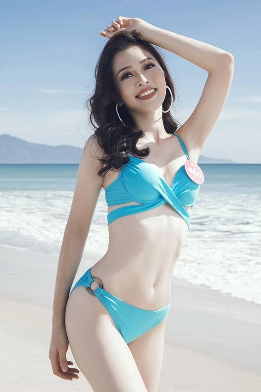 Vẻ đẹp nóng bỏng của Top 5 Hoa hậu Việt Nam 2018-5